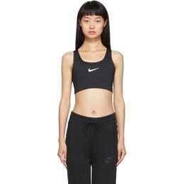 Nike Black Swoosh Bra 192011F07301701GB