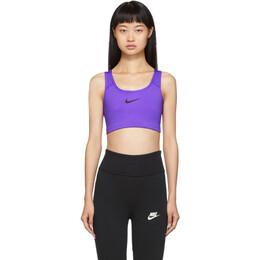 Nike Purple Swoosh Bra 192011F07301903GB