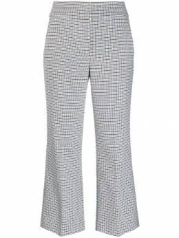 Veronica Beard расклешенные брюки в клетку 1906HT0036290