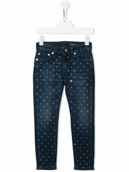 Dondup Kids джинсы с заклепками YP270BDS0265GW43800