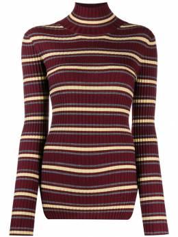 Plan C свитер в полоску с высоким воротником DVCMA52KG0FW003