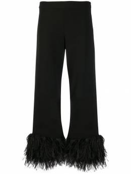 P.a.r.o.s.h. брюки с перьями PIRATYXD230421P