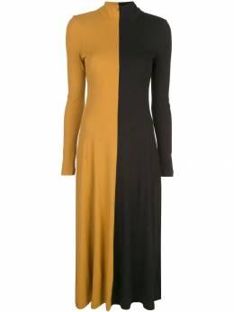 Rosetta Getty двухцветный платье-джемпер 14194N7260