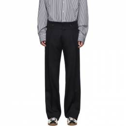Lanvin Black Tailored Trousers LRMTR0166-00400H19