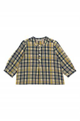 Рубашка с кокеткой и принтом Bonpoint 1210147757