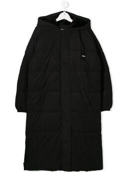 DKNY Kids пальто-пуховик D36609
