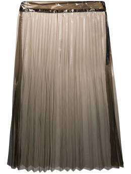 Ssheena прозрачная юбка со складками 19SSGLASSLMTS19015
