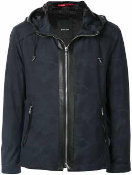Loveless куртка с капюшоном и камуфляжным принтом 61F33203