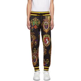 Dolce&Gabbana Black Emblem Lounge Pants GYXYAT FS777