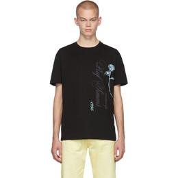 Raf Simons Black Antwerp Slim Fit T-Shirt 192-114