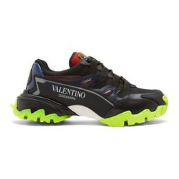 Valentino Black Valentino Garavani Climber Sneakers SY2S0C20RIC