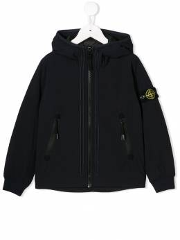 Stone Island Junior легкая куртка с капюшоном MO711640331