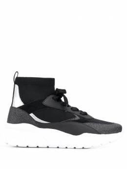 Bally высокие кроссовки со вставками 6228562
