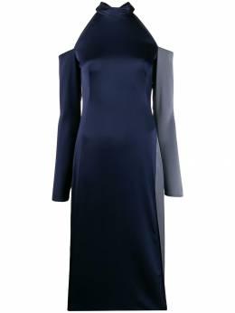 Ssheena атласное платье с открытыми плечами 19FWASTONTF19001