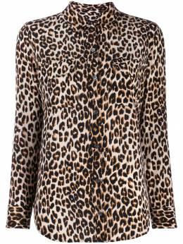Equipment рубашка с леопардовым принтом Q588E231
