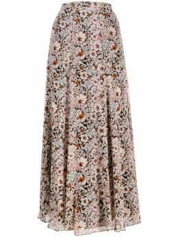 Giambattista Valli пышная юбка с цветочным принтом 19WPVCI244577FAO