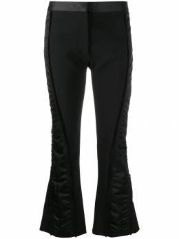 Mugler брюки с контрастными вставками 19P1PA0262560
