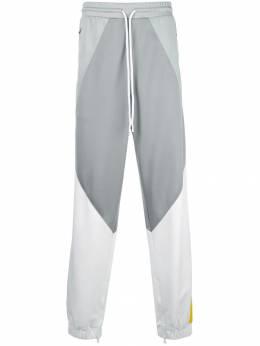 God's Masterful Children спортивные брюки в стиле колор-блок GMC02AIB11