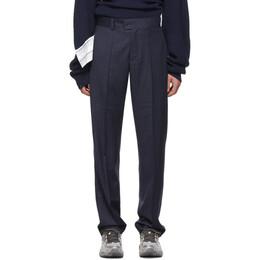 Vetements Navy New Classic Trousers MAH20PA100