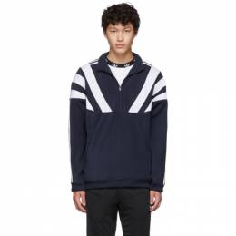 Adidas Originals Navy 96 QZ Zip-Up Sweater EE2343