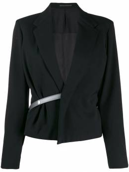Yohji Yamamoto Pre-Owned пиджак с поясом YY30150315