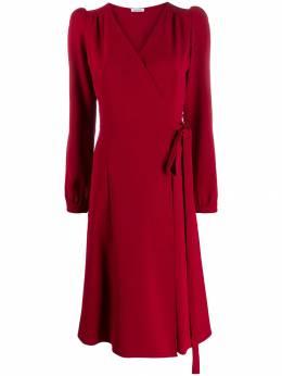 P.a.r.o.s.h. платье миди с запахом PIRATYXD723027