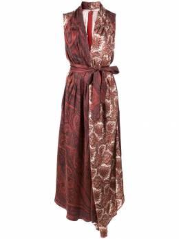 Adam Lippes платье с принтом пейсли F19727PK