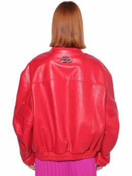 Кожаная Куртка В Байкерском Стиле Balenciaga 70I5CI073-NjQwMA2