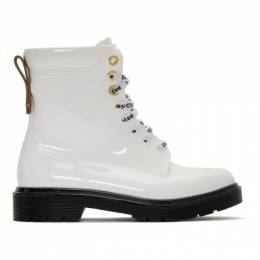 See By Chloe White Florrie Boots SB33150B 10113