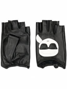 Karl Lagerfeld перчатки-митенки 96KW3602999