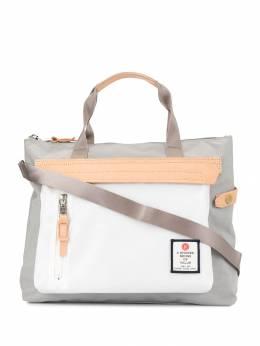 As2ov сумка-тоут с контрастными вставками 09143015