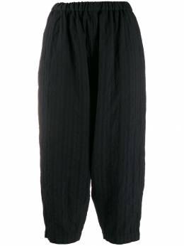 Comme Des Garcons Comme Des Garcons укороченные брюки в полоску RDP011W19