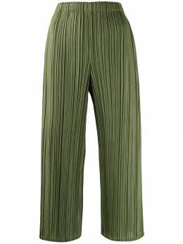 Pleats Please Issey Miyake брюки палаццо с завышенной талией PP98JF604