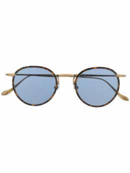 Matsuda солнцезащитные очки в круглой оправе черепаховой расцветки M3058