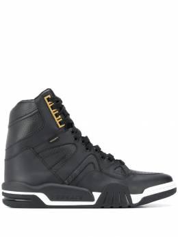 Versace высокие кроссовки со вставками DSU7463D0VTG