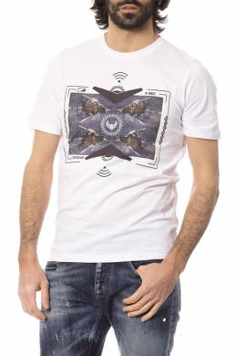 T-shirt Frankie Morello FMCF7242TS_OPTICAL_WHITE