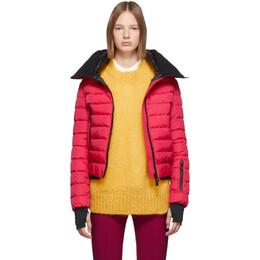 Moncler Grenoble Pink Down Vonne Jacket 45356 05 5399E