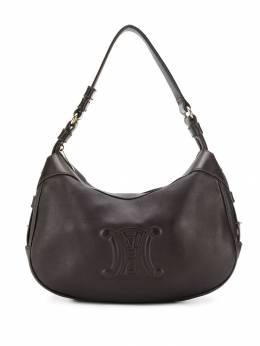 Celine Pre-Owned сумка на плечо с тисненым логотипом 130430
