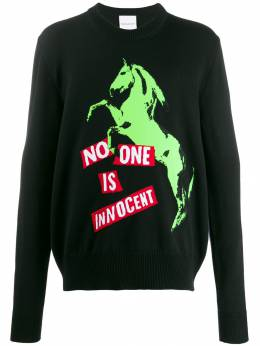 Nasaseasons свитер No One Is Innocent SW004BBLK