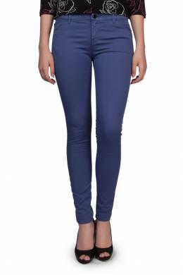 Плотные сиреневые брюки Armani Jeans 1742149049