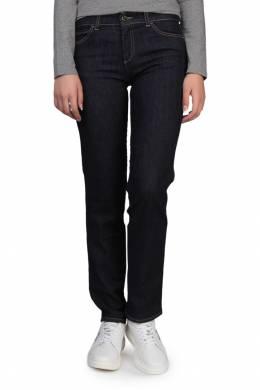 Прямые синие джинсы Armani Jeans 1742149035