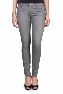 Облегающие серые джинсы Armani Jeans 1742149104