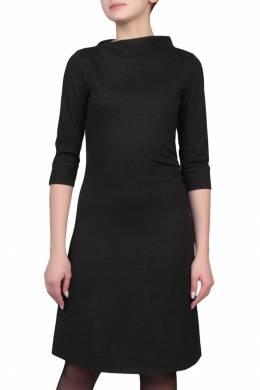 Приталенное серое платье Armani Jeans 1742149084