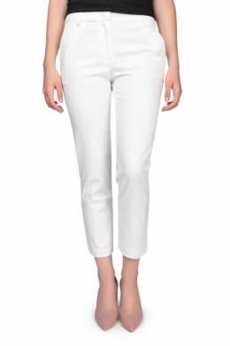 Белые прямые капри Armani Jeans 1742149057