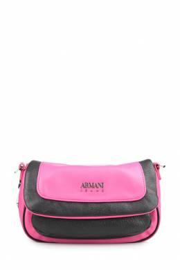 Двуцветная объемная сумка на плечо Armani Jeans 1742149243