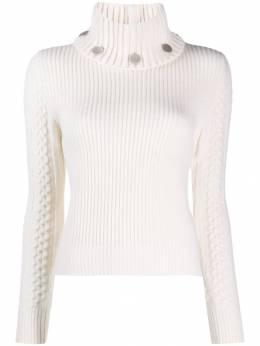 Alexander McQueen свитер с высоким воротником 595006Q1AK1