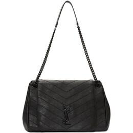Saint Laurent Black Medium Nolita Bag 585028 03W08