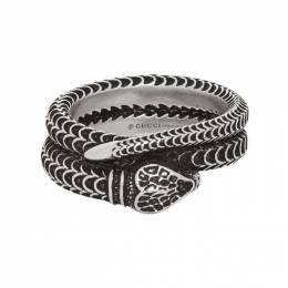 Gucci Silver Snake Ring 577294 J8400