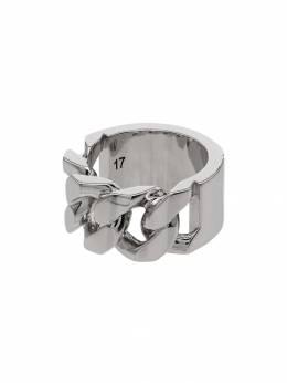 Alexander McQueen кольцо Identity 576873J160Y