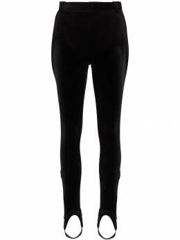 Y / Project брюки со штрипками WPANT47BS17